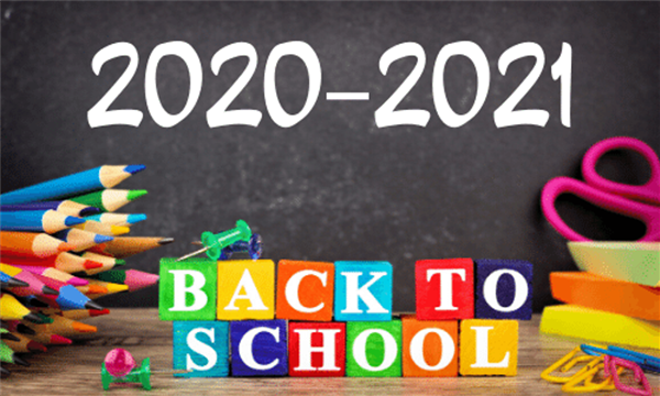 Revised Return to School Dates 2020-2021